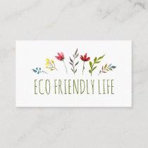 Zero Waste Eco Friendly Business Card