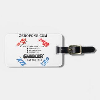 Zeropong Staff Luggage Tag