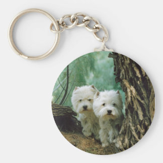 Zest and Donna(Mother and Daughter Take 2) Basic Round Button Keychain