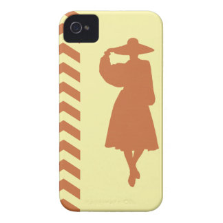 Zest Cream Neutral Chevrons Fashion iPhone 4 Covers