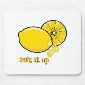 Zest It Up Mouse Pad