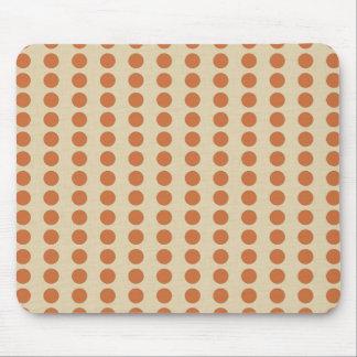 Zest Spice Moods Dots Mouse Pad
