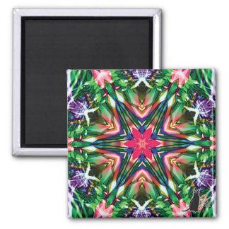 Zesty Kaleidoscope Magnet