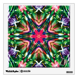 Zesty Kaleidoscope Wall Decal
