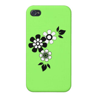 Zesty Key Lime Color iPhone 4 Cases