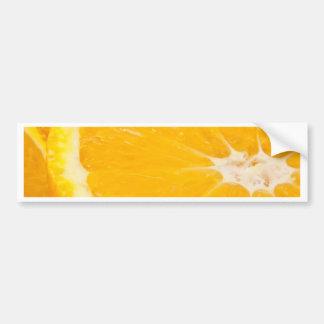 Zesty orange. bumper sticker