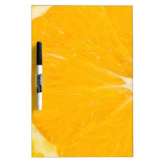 Zesty orange. Dry-Erase board