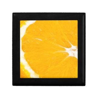 Zesty orange. jewelry box