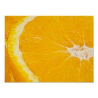 Zesty orange. poster