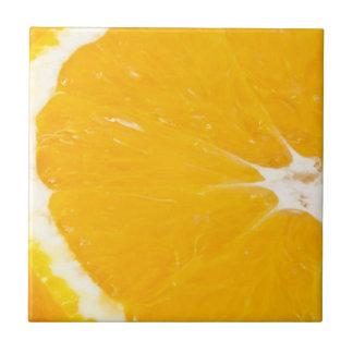 Zesty orange. tile