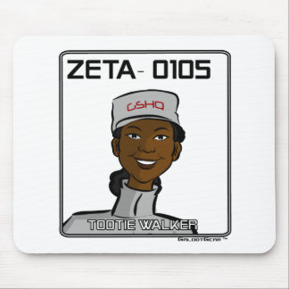 ZETA 0105 - Tootie Walker Mouse Pad
