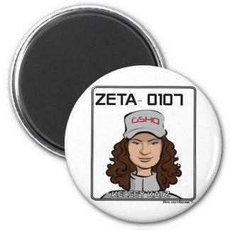 ZETA 0107 - Kelsey Katz Imán Redondo 5 Cm