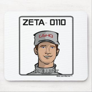 ZETA 0110 - J.R. Elliott Mouse Pad