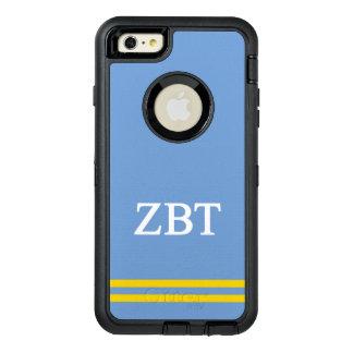 Zeta Beta Tau   Sport Stripe OtterBox Defender iPhone Case