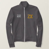 Zeta Chi Embroidered Jacket