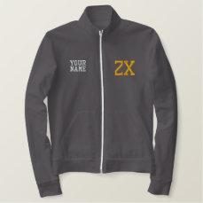 Zeta Chi Embroidered Jacket