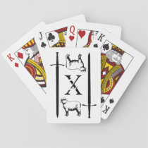 Zeta Chi Playing Cards