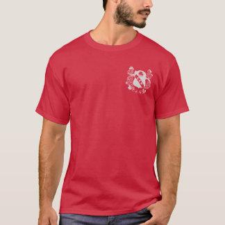Zeta Gamma Alpha Basic Maroon Crest Shirt