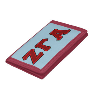 Zeta Gamma Alpha Fraternity Wallet