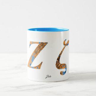 ZETA Two-Tone COFFEE MUG