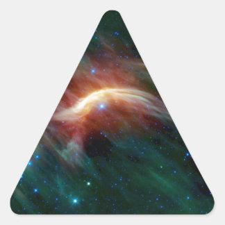 Zeta Ophiuchi - A Future Supernova Triangle Sticker