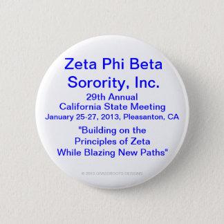 Zeta Phi Beta Sorority, Inc., 29th Annual Meeting Button