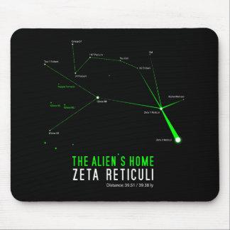 ZETA RETICULI Alien's Home Mouse Pad