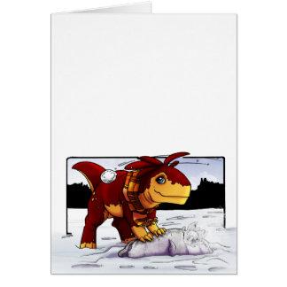 Zeta Snowball Fight! Card