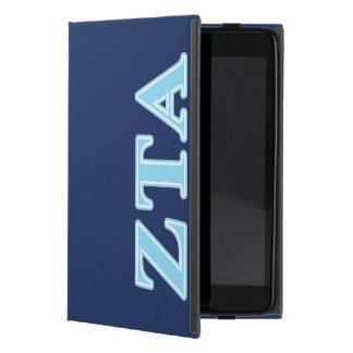 Zeta Tau Alpha Baby Blue Letters Covers For iPad Mini