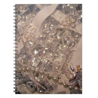Zeta White Pearl Notebook