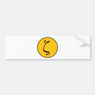 Zetai Car Bumper Sticker