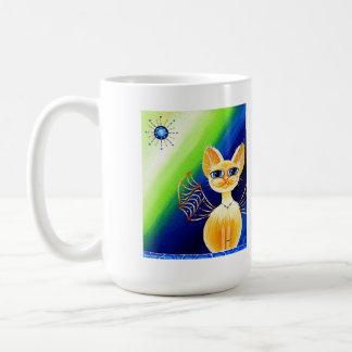 Zethra, Fantasy Fairy Kitty Coffee Mug