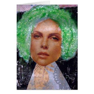 Zetti Girl 2, The Green Haired Girl Card