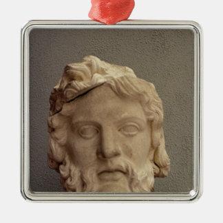 Zeus, 69-96 AD Metal Ornament
