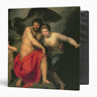 Zeus and Hera on Mount Ida, 1775 3 Ring Binder