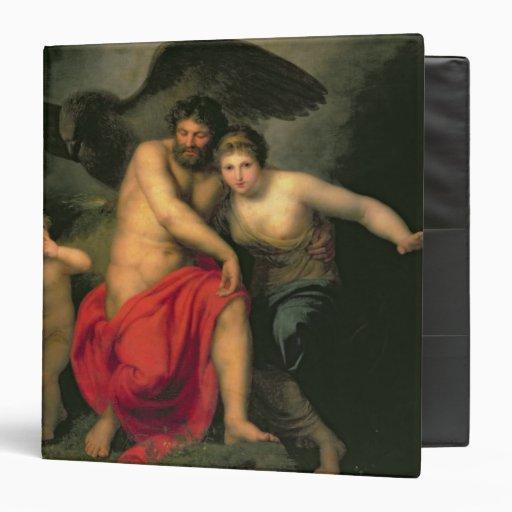 Zeus and Hera on Mount Ida, 1775 3 Ring Binders