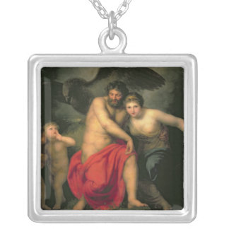 Zeus and Hera on Mount Ida 1775 Personalized Necklace