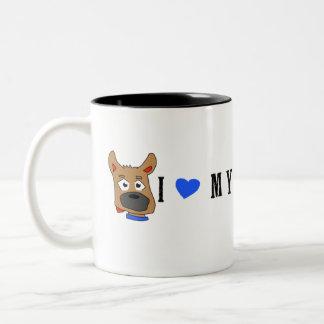 """Zeus"" and Horizontal Photo Mug"