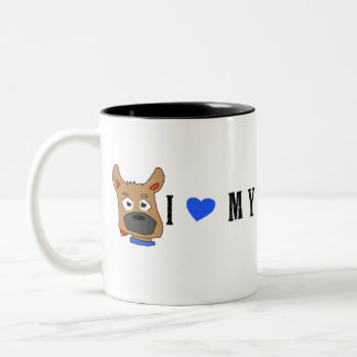 """Zeus"" and Vertical Photo Mug"