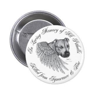 Zeus angel 2 inch round button