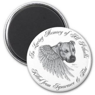 Zeus angel 2 inch round magnet