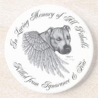 Zeus angel drink coaster