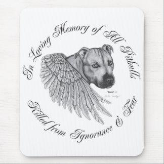 Zeus angel mousepad vertical design