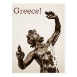 Zeus, dios griego postal