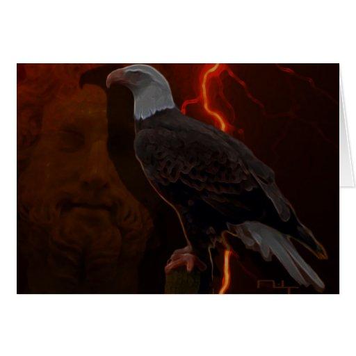 Zeus ' eagle (card)