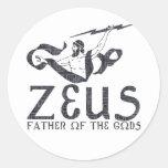 Zeus Etiquetas Redondas