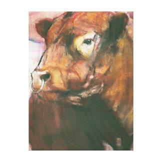 Zeus Galloway ceñido rojo Bull 2006 2 Lona Estirada Galerias