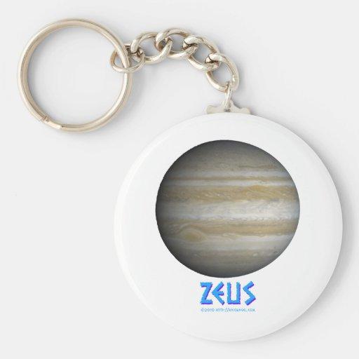 Zeus - Júpiter - dios de viejo Llavero