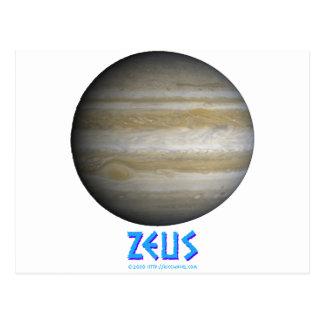 Zeus - Júpiter - dios de viejo Postal