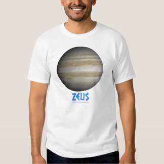 Zeus - Júpiter - dioses de viejo Playeras